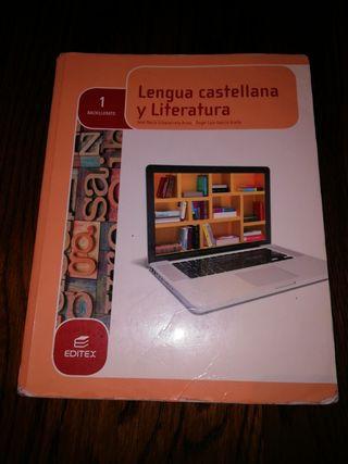 libro lengua castellana y literatura 1Bachillerato