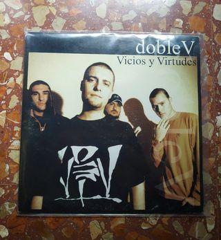 VINILO DOBLE V - VICIOS Y VIRTUDES. ED, ORIGINAL