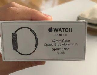 Apple Watch Series 3 Gris Espacial Aluminio 42mm