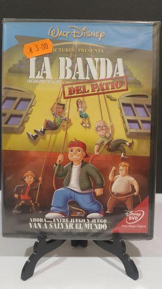 La Banda del Patio formato dvd nuevo