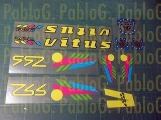 Bici Vitus 992 adhesivos vinilos pegatina
