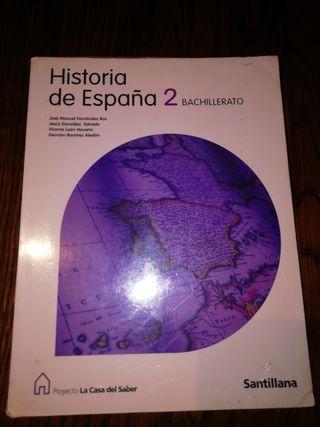 Libro Historia de España 2 bachillerato