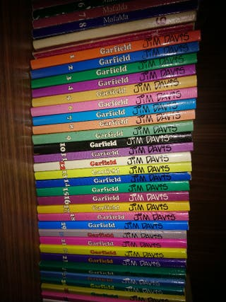 Colección Garfield.