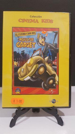 El último caso del inspector gadget dvd