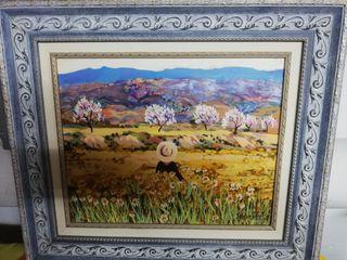 Pintura enmarcada