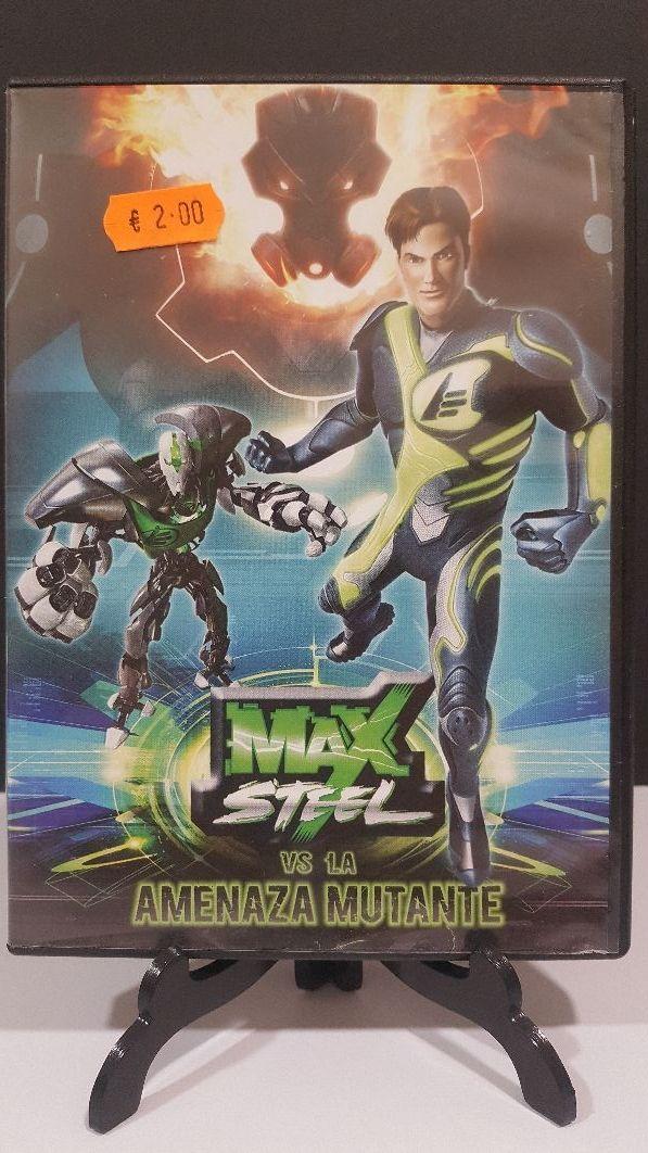 máx steel vs la Amenaza Mutante dvd