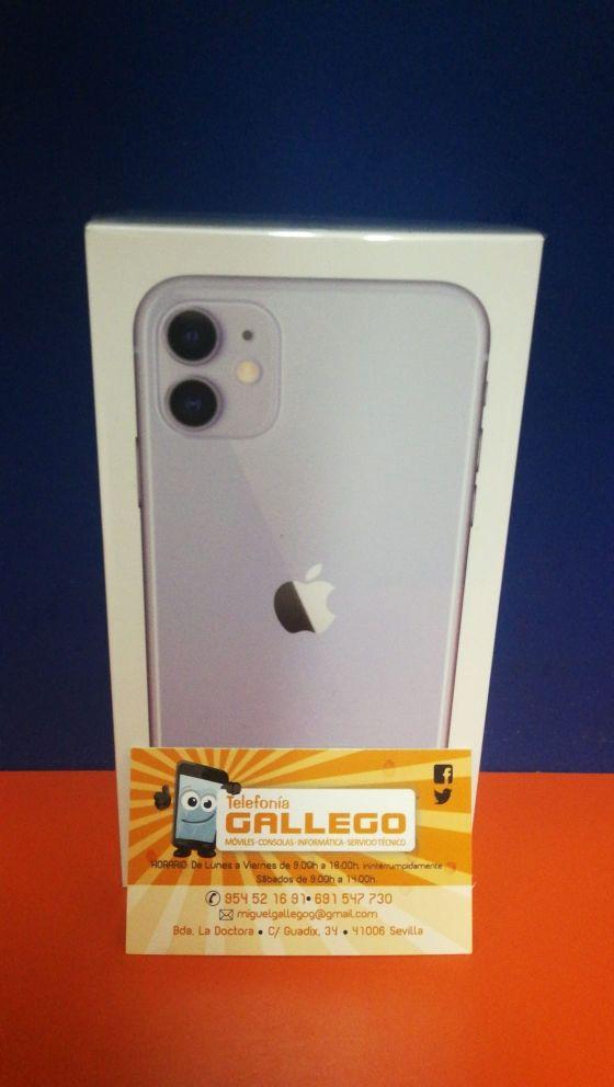 Iphone 11 256 gb precintado malva