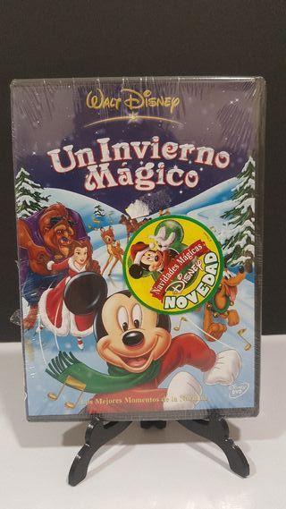 un invierno Mágico Mickey DVD nuevo
