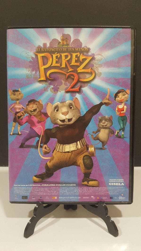 PÉREZ 2 el ratoncito de los sueños dvd