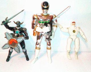 Power Rangers juguete figura miniaturas PVC