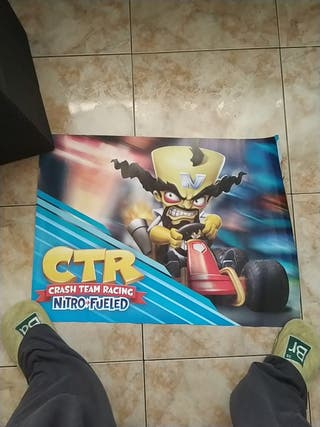 Poster Crash Bandicoot