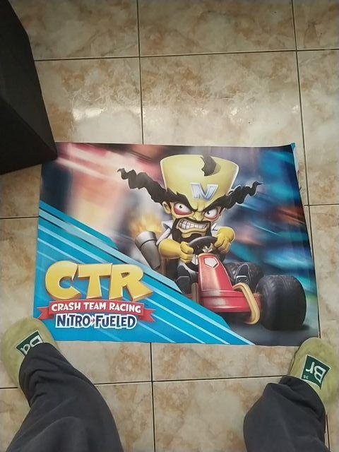 Poster Crash Bandicoot