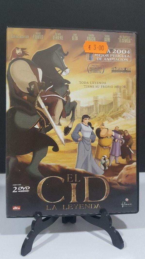 EL CID la leyenda animacion dvd
