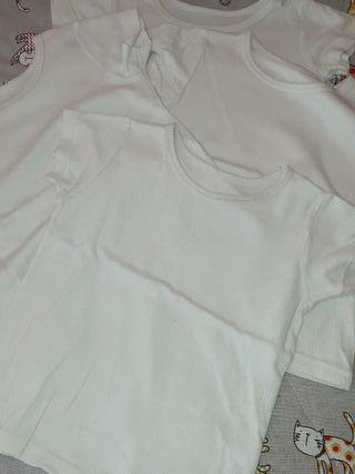 lote camisetas interiores termicas