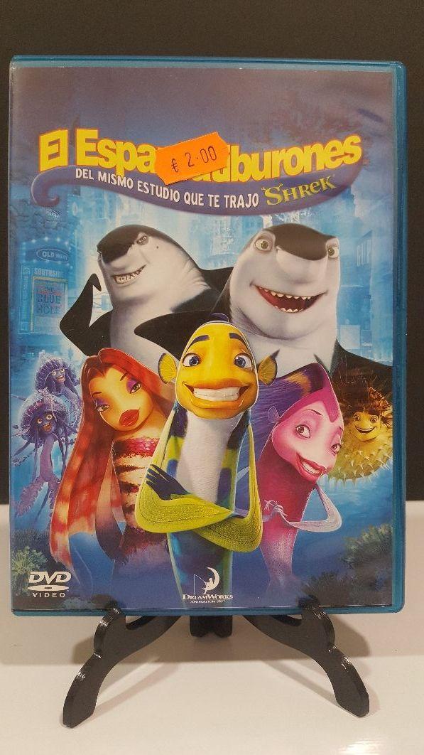 El espantatiburones dvd