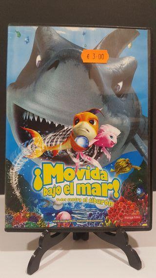 ¡ Movida bajo el mar ! animación dvd