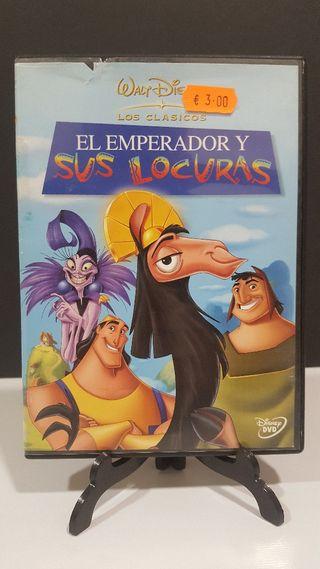 El emperador y sus locuras walt Disney dvd