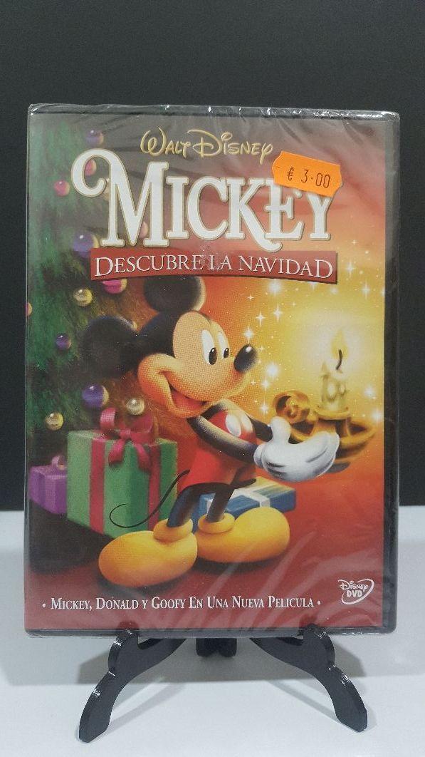 Mickey descubre la Navidad dvd walt Disney