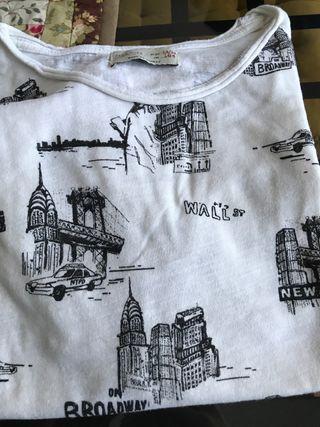 camisetas DC y Zara Boys