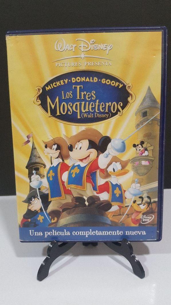 Los 3 Mosqueteros Mickey dvd