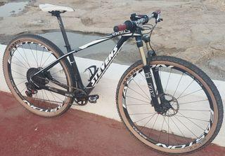"""bicicleta de montaña marca Stevens sonora 29"""" t. S"""