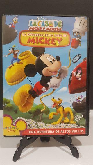 La búsqueda de la casa de Mickey DVD