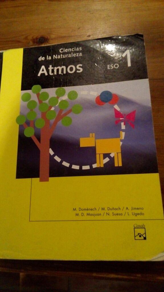 Libro Ciencias Naturaleza ESO 1