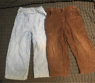 Pantalones de pana 3 años