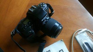 Camara reflex analogica Nikon f-601 af