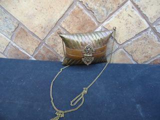 bolso latón o metal de color de cobre