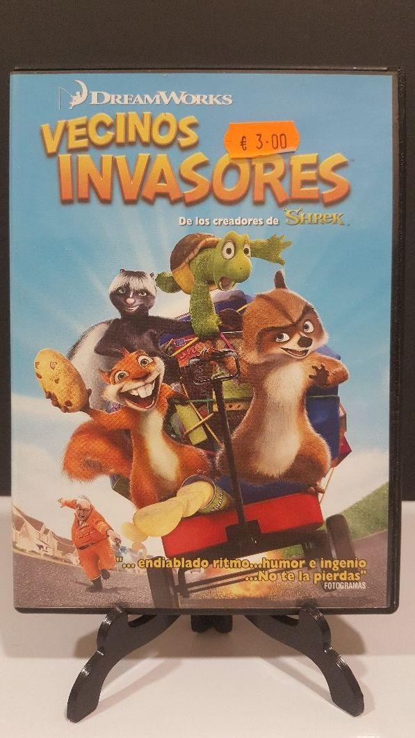 vecinos invasores dvd animación