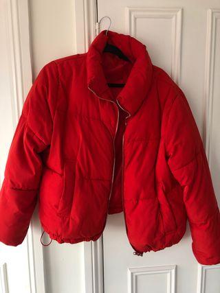 H&M red coat