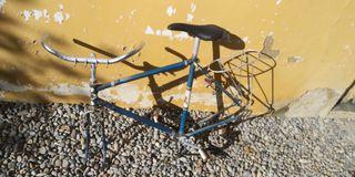 cuadro bicicleta antigua orbea