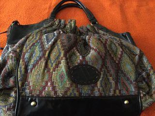 Bolso tapiz Adolfo Domínguez