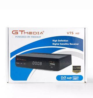 Decodificador satélite Gt Media V7S HD NUEVO