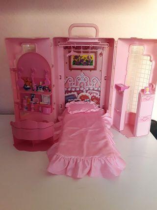 Barbie casa maletín Week End On the Go 1989