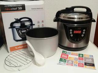 Robot de cocina, olla programable newchef 3D.NUEVO