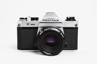 Pentax Cámara K1000 con 50 mm