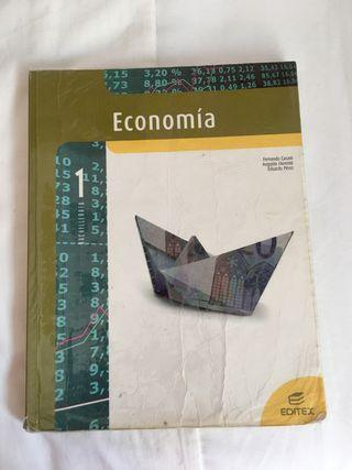Economía 1º Bachillerato EDITEX