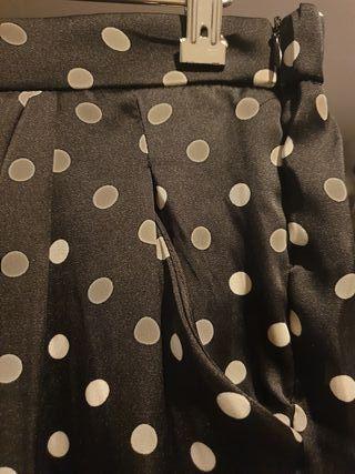 pantalón lunares