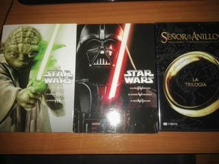 Star Wars. Señor de los anillos. NUEVAS