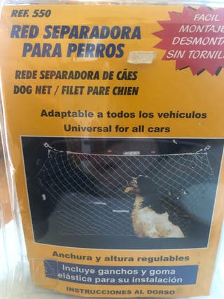 Red separadora para perros. Universal