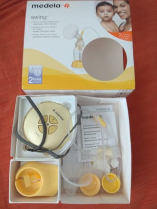 Sacaleches eléctrico medela swing+ pack regalo