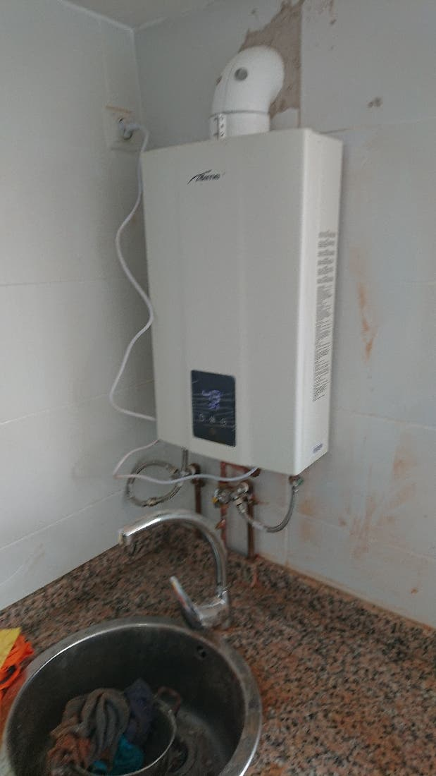 calderas de gas y biomasa