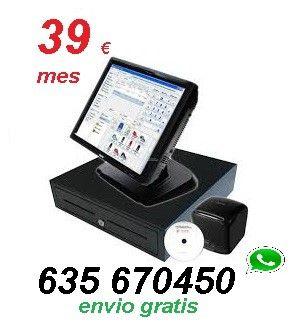 TPV Tactil alquiler y compra hosteleria comercio