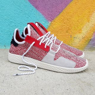Adidas x Pharrell Williams Afro Tennis Hu V2 Rojo