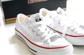 Converse Chuck Taylor low white