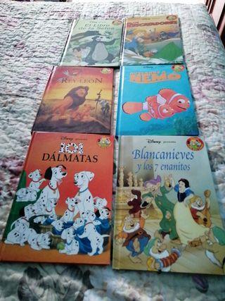 6 LIBROS DE CUENTO CLASICO
