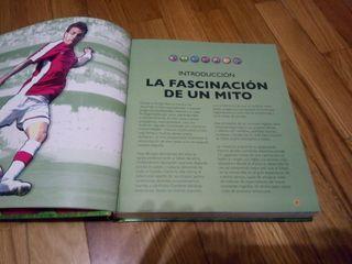 libro Atlas ilustrado fútbol