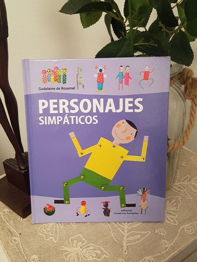 Libro manualidades de personajes
